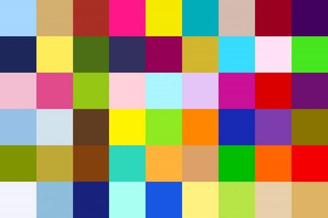 複数の色を使うときにバランスよく配色する方法